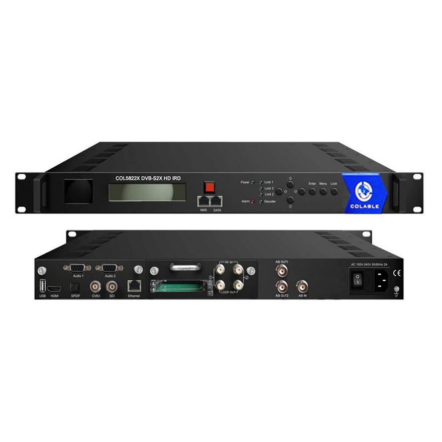 DVB-S2X HD IRD COL5822X-colable electronics Co , Ltd,chengdu